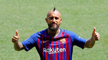 Arturo Vidal gabung Barcelona - INDOSPORT