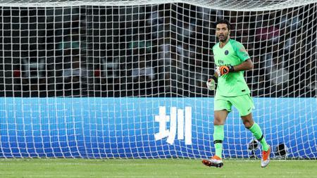 Gianluigi Buffon, Kiper PSG. - INDOSPORT