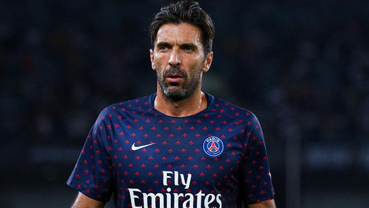 Gianluigi Buffon, Kiper PSG. Copyright: Getty Images