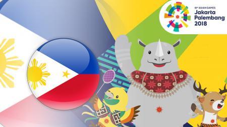 Filipina Asian Games 2018. - INDOSPORT