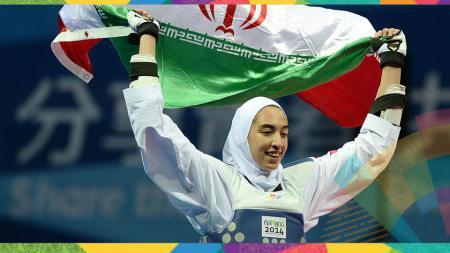 Kimia Alizadeh Zenoorin (Iran) - INDOSPORT