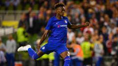 Indosport - Tammy Abraham, pemain Chelsea yang tengah dipinjamkan ke Aston Villa