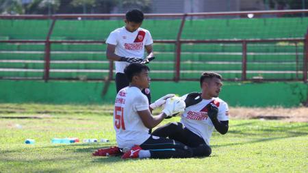 Tiga Kiper PSM Makassar, Hilmansyah, Imam Arief Fadillah dan Syaiful Syamsuddin - INDOSPORT