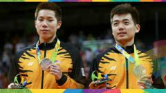 Indosport - Dua pasangan ganda putra Malaysia yakni Aaron Chia/Soh Wooi Yik dan Goh V Shem/Tan Wee Kiong akhirnya harus menelan pil pahit di Kejuaraan Dunia Bulu Tangkis