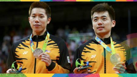 Pasangan Ganda Putra Malaysia, Goh V Shem/Tan Wee Kiong. - INDOSPORT