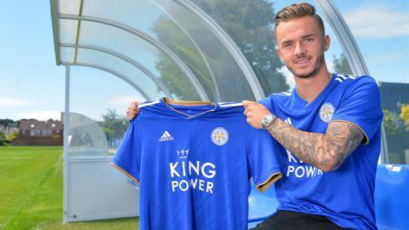 Pemain muda anyar rekrutan Leicester City, James Maddison - INDOSPORT