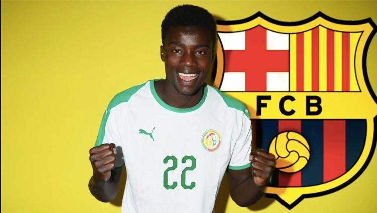 Pemain muda asal Senegal, Moussa Wague. Copyright: INDOSPORT