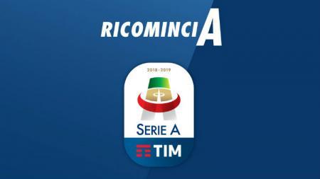Logo baru Serie A Italia. - INDOSPORT