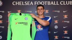 Indosport - Kepa Arrizabalaga resmi pindah dari Athletic Bilbao menuju Chelsea.