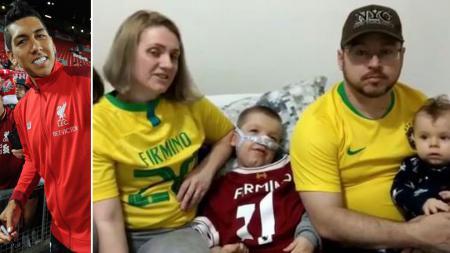 Roberto Firmino donasikan uang untuk selamatkan nyawa Vitor dan Miguel. - INDOSPORT