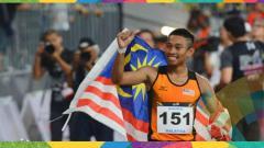 Indosport - Pelari Malaysia, Khairul Hafiz Jantan.