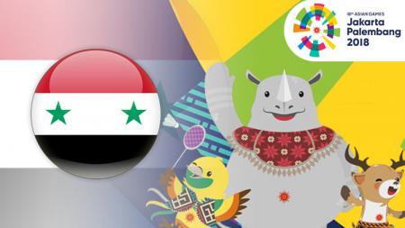 Suriah Asian Games 2018. - INDOSPORT