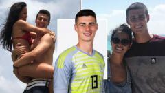 Indosport - Kekasih Kepa Arrizabalaga, Andrea Perez.