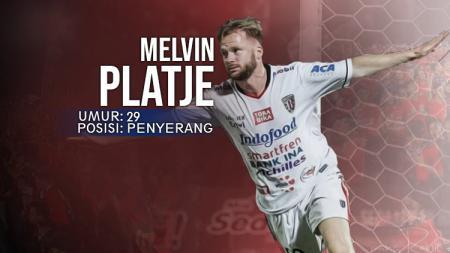 Penyerang Bali United, Melvin Platje. - INDOSPORT