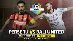 Indosport - Perseru Serui vs Bali United.