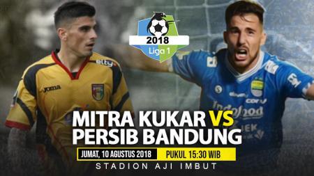 Mitra Kukar vs Persib Bandung. - INDOSPORT