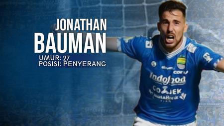 Mitra Kukar vs Persib Bandung Jonathan Bauman. - INDOSPORT