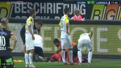 Indosport - Insiden berdarah pada laga Liga Eropa