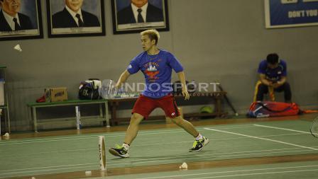 Pasangan Kevin, Marcus Fernaldi juga berlatih terpisah dengan pola latihan yang sama dengan Kevi