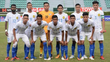 Timnas sepak bola Malaysia U-23 akan memanggil delapan pemain senior dalam daftar 40 skuat entry by name untuk SEA Games 2019. - INDOSPORT