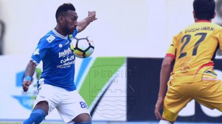 Patrich Wanggai, pemain Persib Bandung. - INDOSPORT