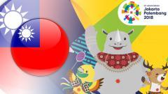 Indosport - Taiwan Asian Games 2018.