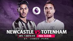 Indosport - Newcastle United vs Tottenham Hotspur.
