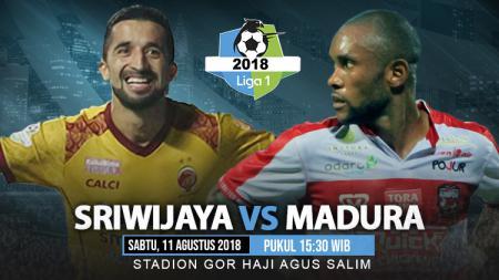 Sriwijaya FC vs Madura United. - INDOSPORT