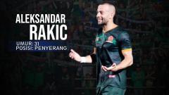 Indosport - PS TIRA vs Persipura Jayapura Aleksandar Rakic.