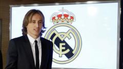 Indosport - Luka Modric.