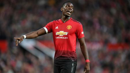 Gelandang Manchester United, Paul Pogba. - INDOSPORT
