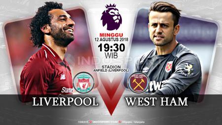 Liverpool vs West Ham. - INDOSPORT