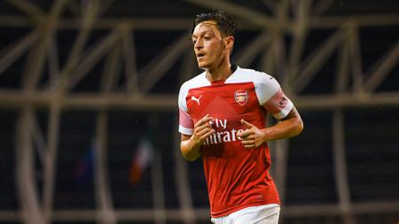 Mesut Ozil, playmaker Arsenal. - INDOSPORT
