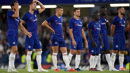 Jelang laga final Liga Champions 2020/21 kontra Manchester City, Minggu (30/05/21), Chelsea terancam pincang ditinggal dua pilar andalan mereka. - INDOSPORT