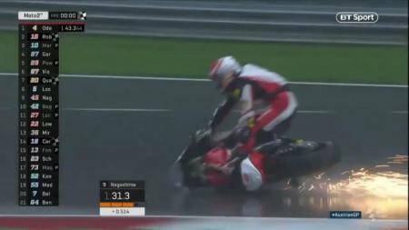 Pembalap Moto 2 asal Jepang, Tetsuta Nagashima . - INDOSPORT