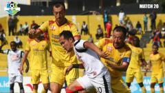 Indosport - Pertandingan Liga 1 2018: Sriwijaya FC vs Madura United