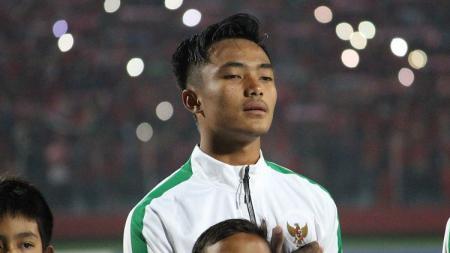 Kiper Timnas Indonesia U-16. - INDOSPORT