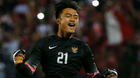 Kiper Timnas Indonesia U-16, Ernando Sutaryadi. - INDOSPORT