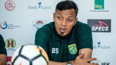 Pelatih Persebaya Surabaya, Bejo Sugiantoro. - INDOSPORT