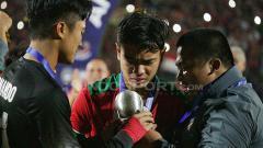 Indosport - Gelandang muda Timnas Indonesia, Brylian Aldama, disebut media asing bakal susul penghancur kaki Evan Dimas yakni Doan Van Hau ke Liga Belanda.