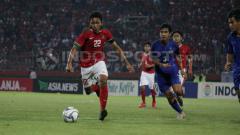 Indosport - Fajar Fathur Rachman, penggawa Timnas U-16 di Piala AFF U-16 2018.