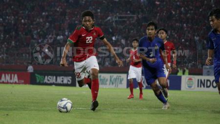 Jebolan program Garuda Select, Fajar Fathur Rahman gagal lolos seleksi di Timnas Indonesia U-19 untuk ikut pemusatan latihan di Kroasia. - INDOSPORT