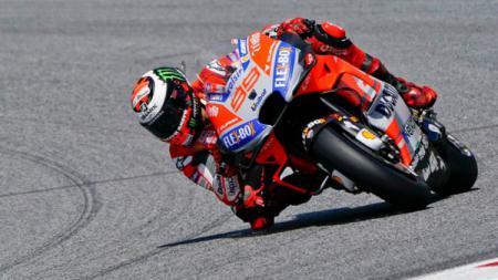 Memutuskan pensiun pada 2019 lalu, Jorge Lorenzo nampaknya berpeluang untuk kembali ke kancah MotoGP bersama tim Ducati. - INDOSPORT
