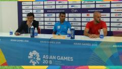 Indosport - Palestina di sesi konferensi pers Asian Games 2018.