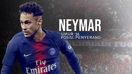 Bintang Paris Saint-Germain, Neymar Jr. - INDOSPORT