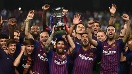 Barcelona juara Piala Super Spanyol 2018 - INDOSPORT