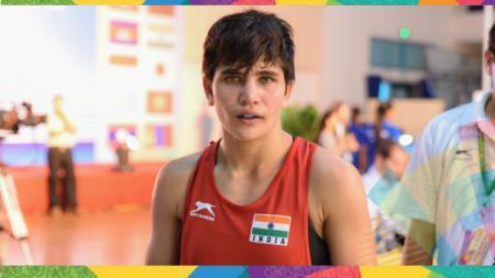 Petinju India yang bakal bertarung di Asian Games 2018, Sonia Lather. - INDOSPORT