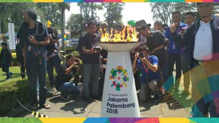 Kirab Obor Asian Games 2018 akan menyambangi Jakarta. - INDOSPORT