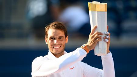 Rafael Nadal jadi kampiun Rogers Cup 2018. - INDOSPORT