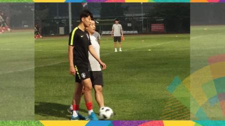 Song Heung-min sudah bergabung dengan latihan Timnas Korea Selatan - INDOSPORT